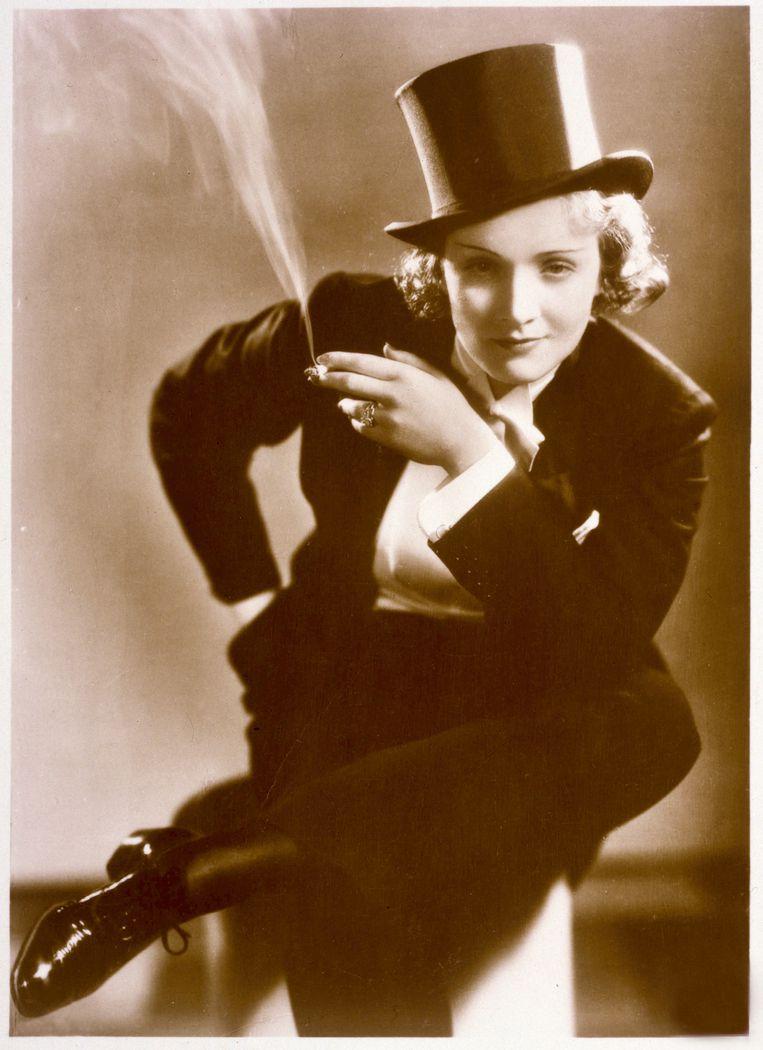 Marlene Dietrich. Beeld AKG