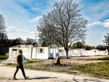 Vlak voor het campingseizoen is het terrein van De Berekuil nog steeds een bouwput