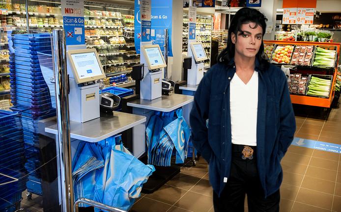 Is Michael Jackson straks niet meer te horen bij de zelfscanner van de Albert Heijn?