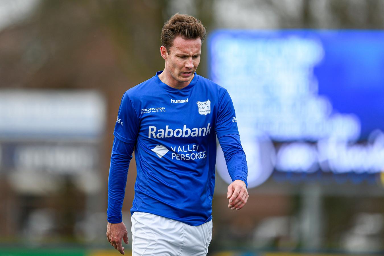 GVVV-voetballer Robin Mulder.