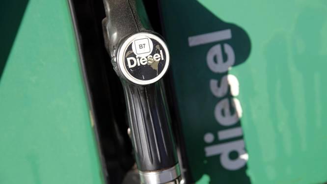 Nieuwe recordprijs voor diesel