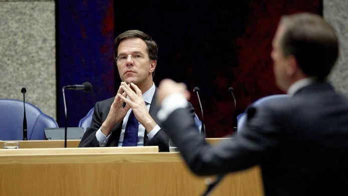 Minister-president Rutte.