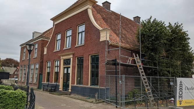 Restauratie Huize Keizer in Denekamp afgerond: Originele kleur is weer terug