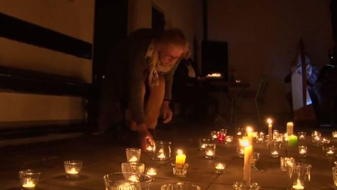 Kaarsjes branden bij Villa TrösT: 'Er zijn heel veel mensen die nu alleen aan het sterven zijn'