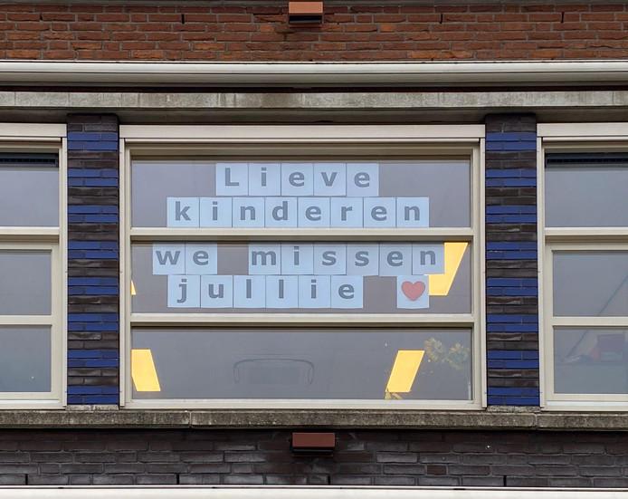 IKC Merweplein in Gorinchem mist de scholieren.