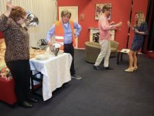 Toneelgroep Clingclaer trekt weer alle registers open: toneel wordt luxueus hotel