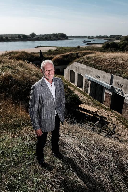 Eric Creemers, directeur van Fort Pannerden.