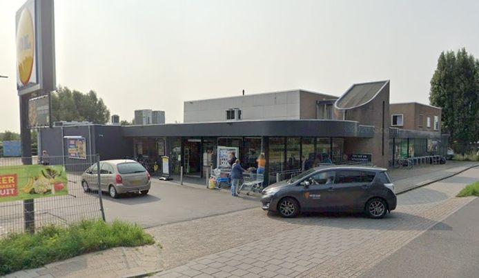 De Lidl in IJsselmuiden