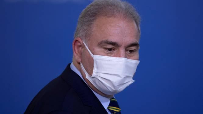 Braziliaanse gezondheidsminister legt 24 uur na vergadering met Britse premier Johnson positieve coronatest af