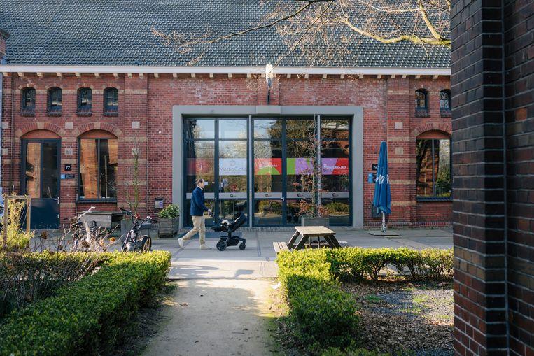De tv-studio's op het Westergasterrein gaan verhuizen naar Hilversum.  Beeld Marc Driessen