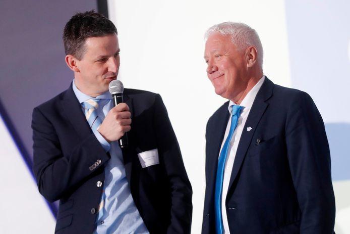 Patrick Lefevere (rechts).