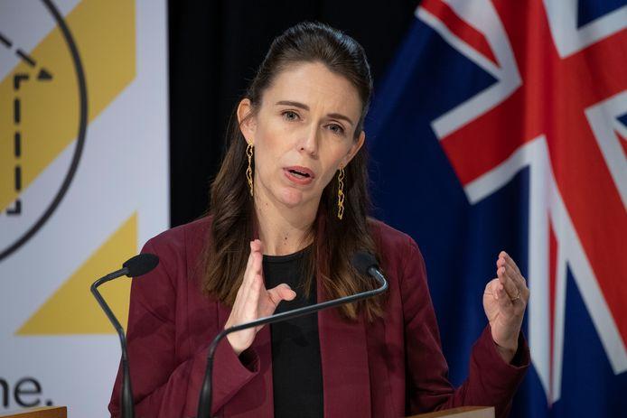 Premier Jacinda Ardern van Nieuw-Zeeland.
