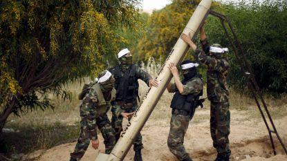 Militante Palestijnen vuren opnieuw raketten op Israël af