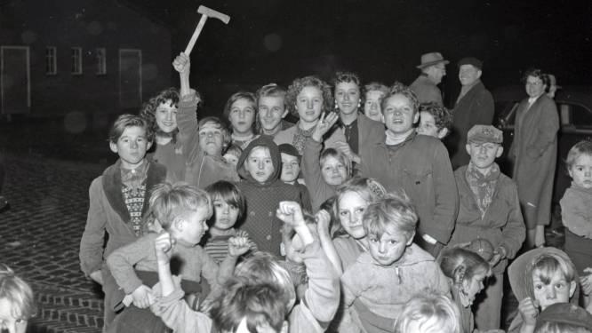 Wie vierde er in 1955 kerst met de bewoners van het woonwagenkamp?