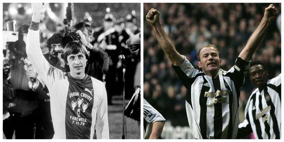 Cruyff en Shearer
