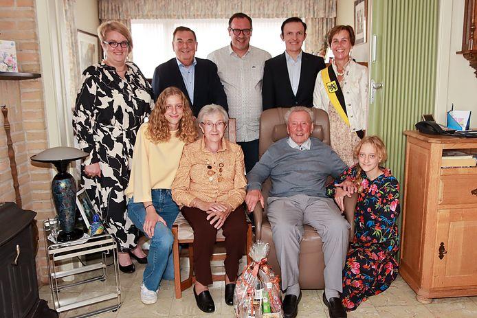 André Haverbeke en Maria Lefevere zijn zestig jaar getrouwd