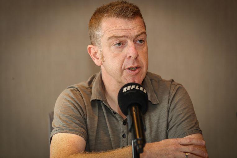 Hoofdaandeelhouder Dieter Penninckx is weggestemd uit het bestuur. Beeld BELGA
