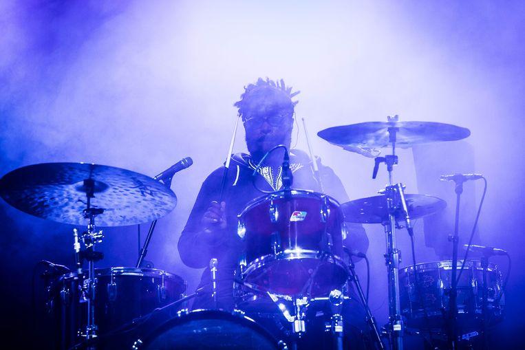 Drummer Questlove van The Roots.  Beeld BAS BOGAERTS