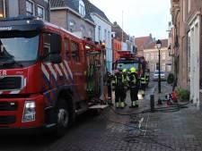 Wasmachine in brand in huis in centrum Culemborg