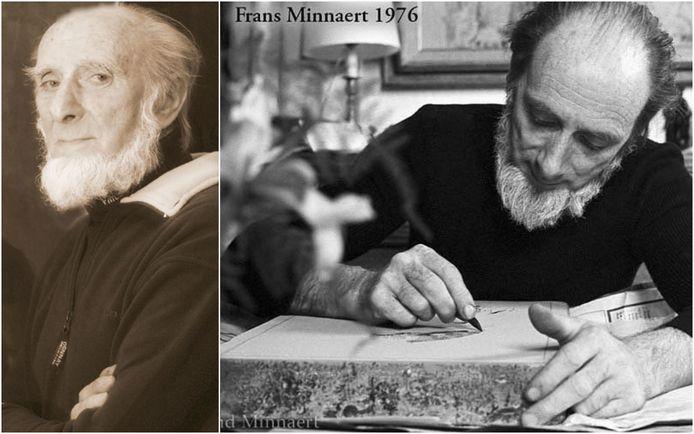 Frans Minnaert is zijn jaren als kunstschilder.