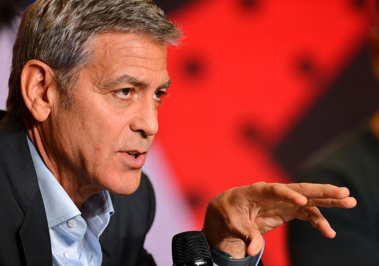 George Clooney. Beeld EPA