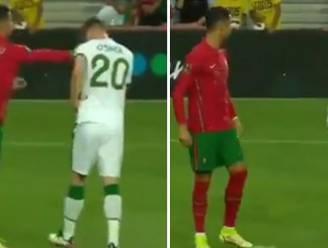 Historische avond voor Cristiano Ronaldo, maar had hij nog wel op het veld mogen staan?