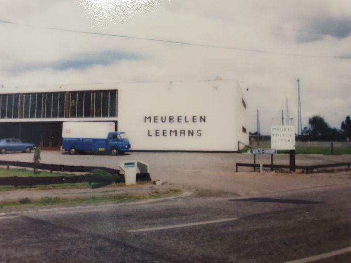 Een beeld uit de jaren '80 van Leemans.
