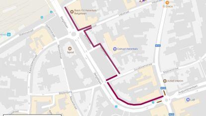 Doorgang Belgiëlaan-Hikstraat afgesloten tijdens werkzaamheden