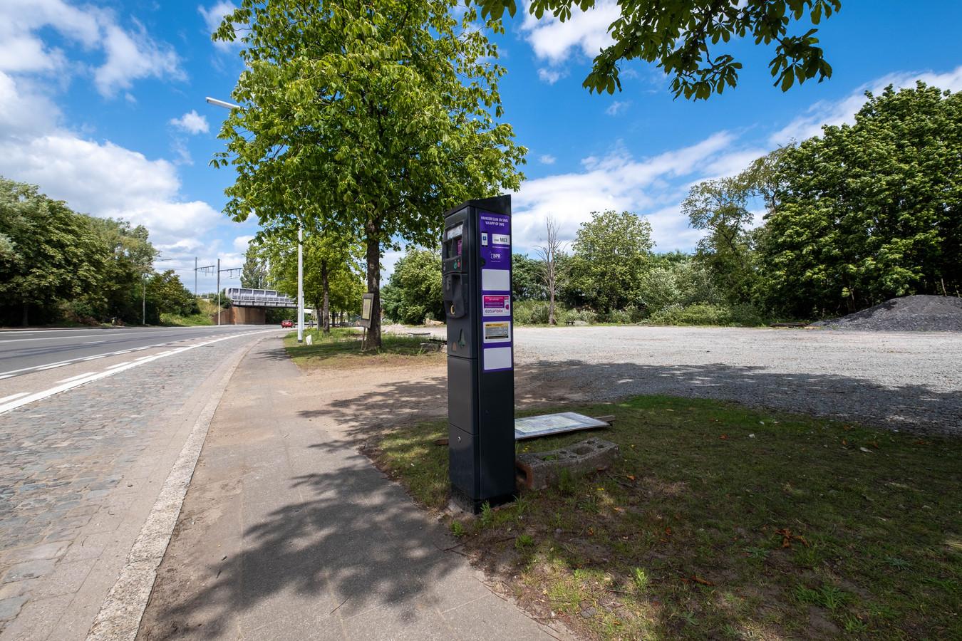 De NMBS Parking aan de Postzegellaan in Mechelen