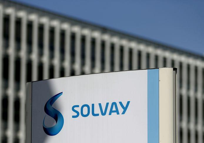 Logo Solvay.