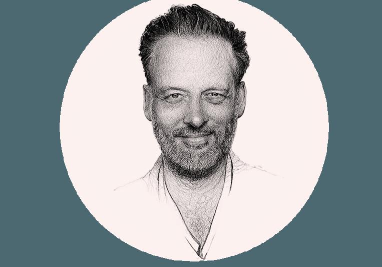 Erik Jan Harmens. Beeld Artur Krynicki