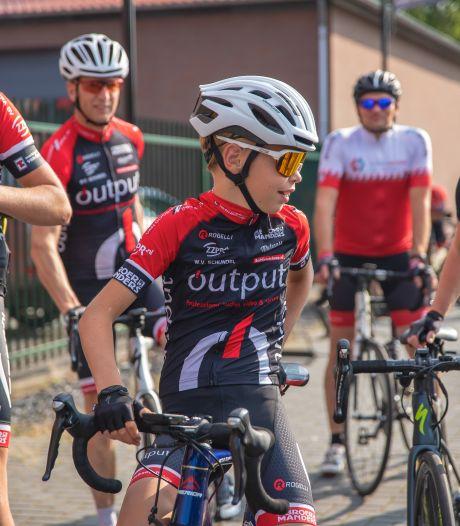 Udense fietstocht voor Kika levert ruim 3800 euro op