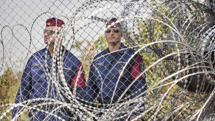 Patrouille aan de Hongaarse grens
