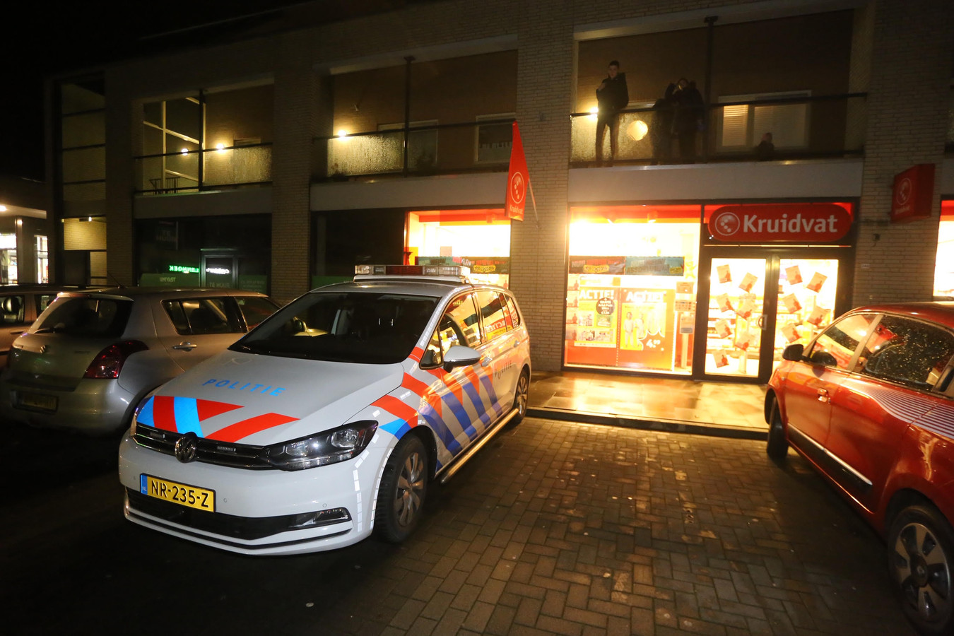 De Kruidvat in Rosmalen werd zaterdagmiddag overvallen