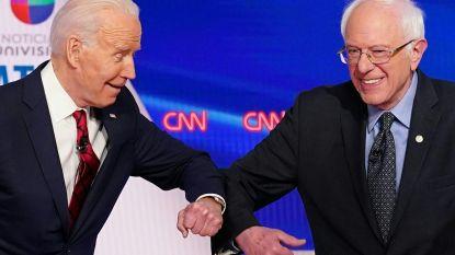 Bernie Sanders spreekt steun uit voor Joe Biden