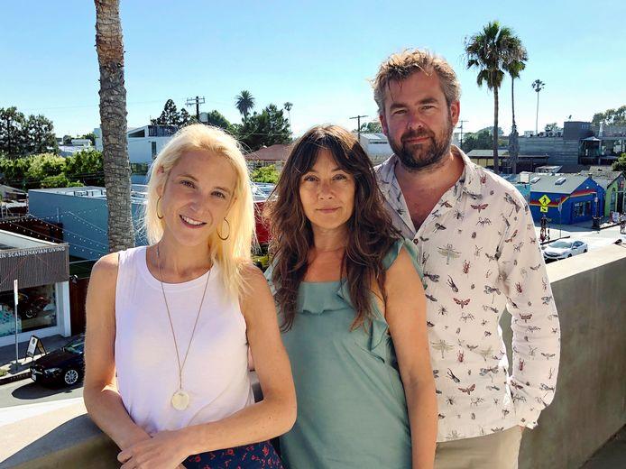 Van links naar rechts: Elyse Sara, Ellen Gaedtgens en Olaf van Gerwen.