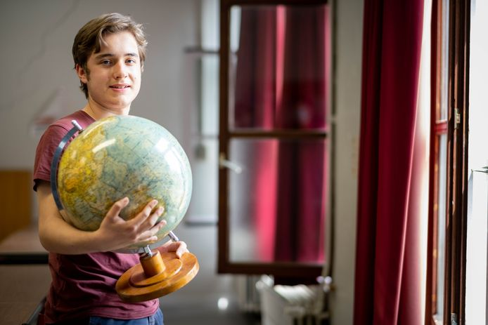 BORNEM Thijs Augustinus van OLVP stoot door naar de finale van de Internationale Geografie Olympiade