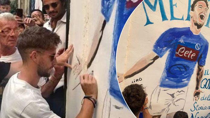 Nouvelle signature pour Dries Mertens à Naples.