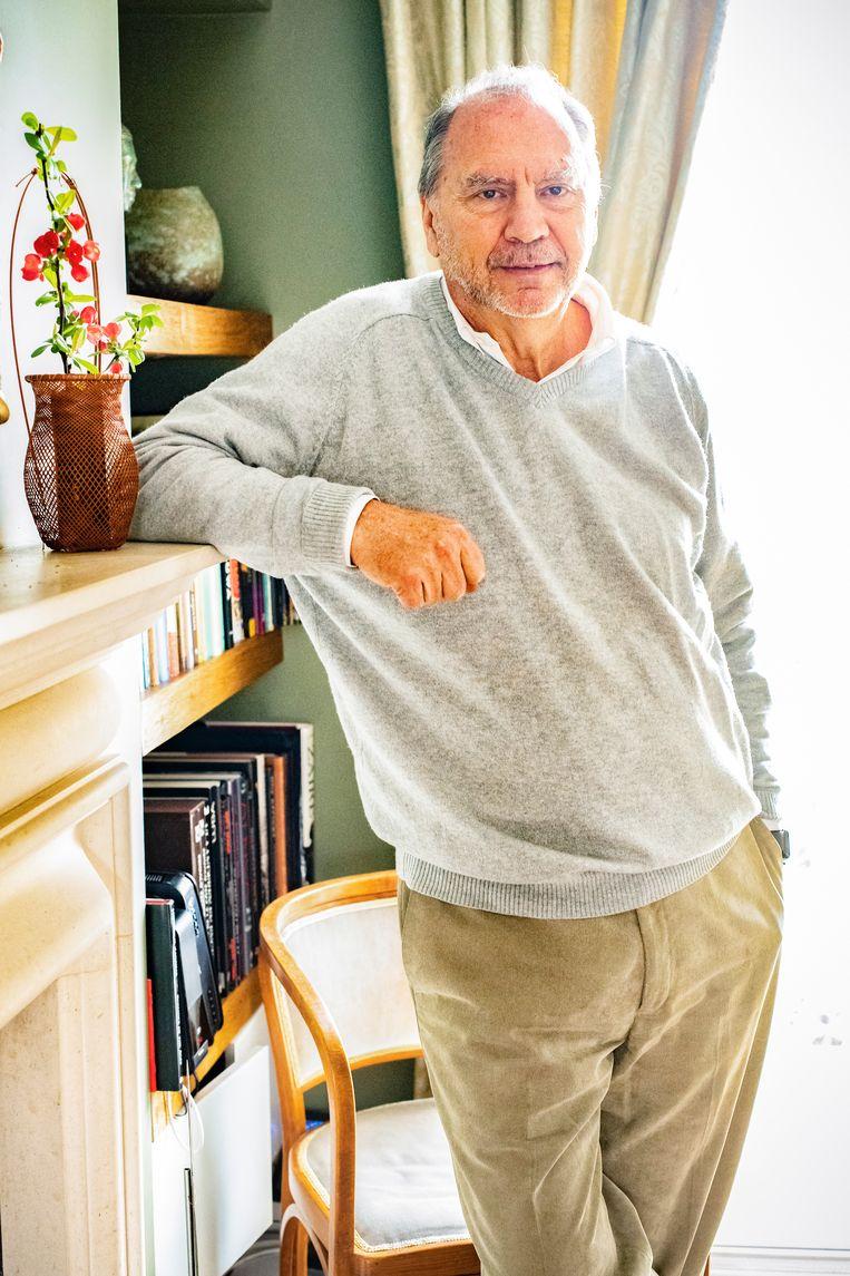 'Als ik zie en hoor wat Marc Van Ranst te verduren heeft gekregen, krijg ik koude rillingen. Ik ben zelf in volle aids epidemie met de dood bedreigd.' Beeld BELGAIMAGE