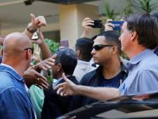 Opnieuw ophef om straatbezoek van Braziliaanse president