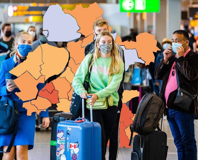In Oost-Nederland neemt het aantal besmettingen weer toe.