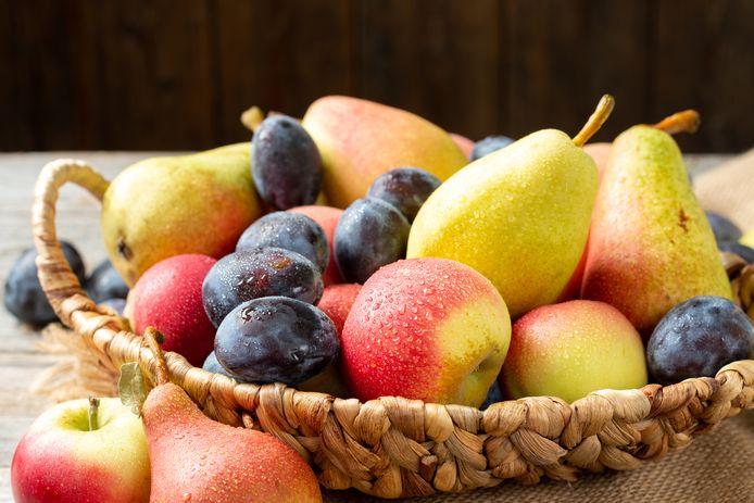 Welk fruit eet je het best met schil?