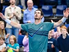Match fou à Anvers: Andy Murray remporte un combat de 3h45 face à Frances Tiafoe