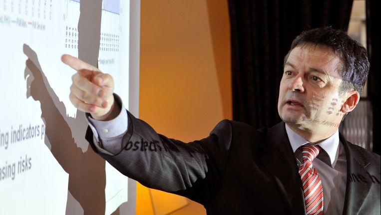 Jean-Marie Caucheteux van Bank Degroof in 2012 (archieffoto).
