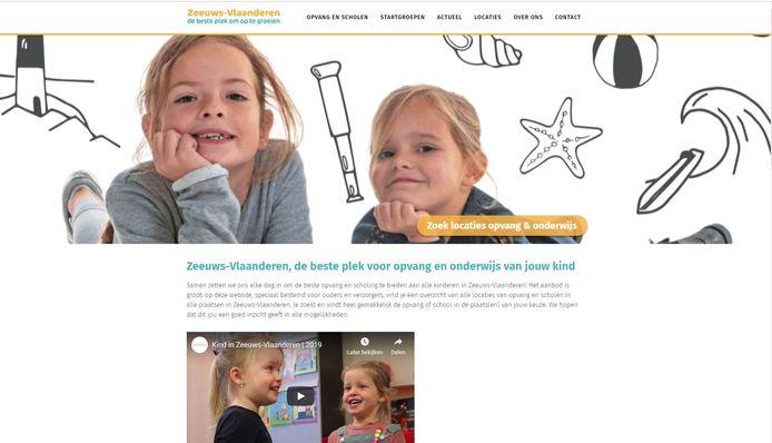 Website www.kindinzeeuwsvlaanderen.nl.