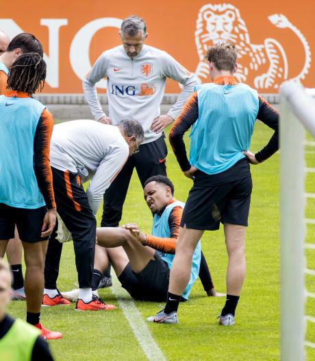 Tete valt uit met blessure op training Oranje