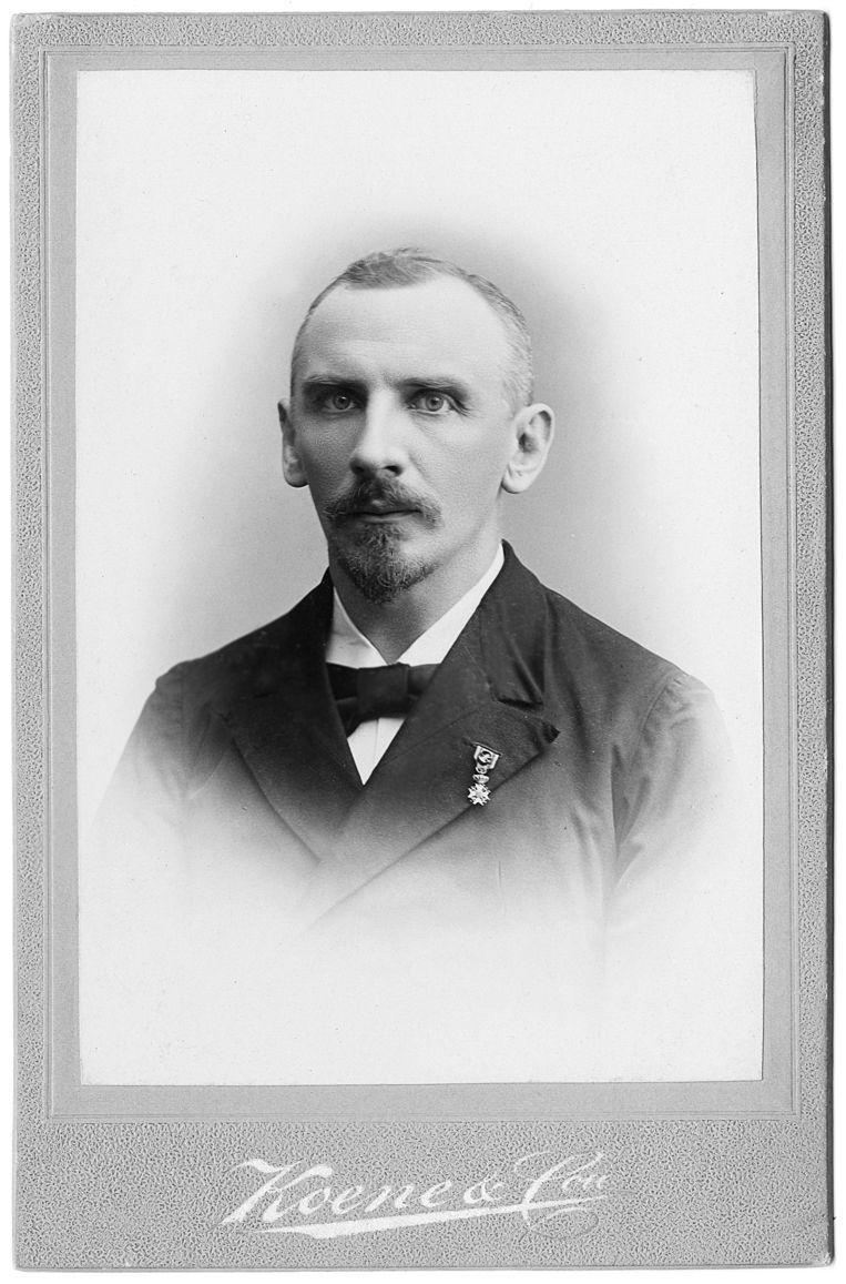 Christiaan Snouck Hurgronje in 1902.  Beeld Universiteitsbibliotheek Leiden
