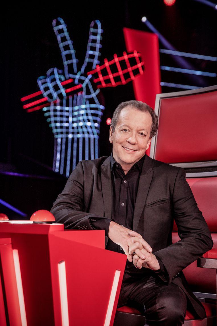Walter Grootaers in de jury van 'The Voice Senior'.