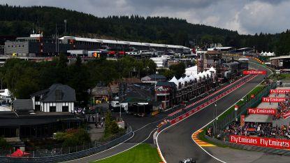 GP Formule 1 van Spa-Francorchamps staat tenminste tot eind 2021 op kalender