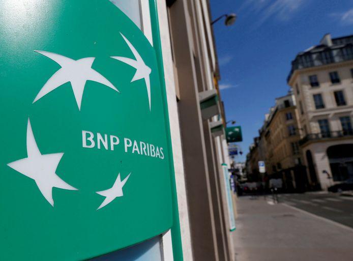 Het logo van BNP Paribas. Archiefbeeld.